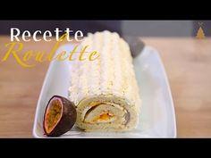 Bûche aux fruits exotiques ! - YouTube - marmiton