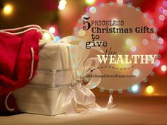 Chronic Kindness: 5 Priceless Christmas Gifts to Give the Wealthy  http://chronickindness.blogspot.com/2015/12/5-priceless-christmas-gifts-to-give.html