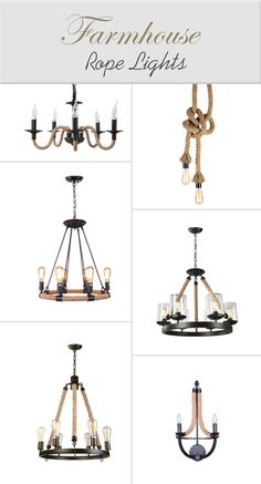 Beautiful rope lighting collection starts at $59.99!It is combined with unique hemp cord as rope and black iron frame as holder.Suitable for hanging in your living room, bedroom and more, it will always be the center of attention no matter it's on or off.