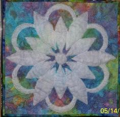 Mary's Shadow trapunto Quilt