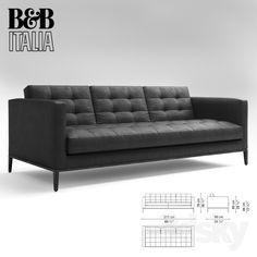 models: Sofa - ac lounge sofa b & b italia Lounge Sofa, Chaise Sofa, Reclining Sofa, Sofa Set, B&b Italia Sofa, Luxury Furniture, Furniture Design, Clinic Interior Design, Modern Couch