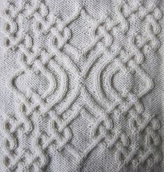 Celtic Squares II is the collection of 50 various cabled squares you can use in your projects.