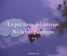 ♥️#frases #citas #vivir #paz #quotes #life #pace #inspiration #motivation #followme/ From www.facebook.com/gonmaye