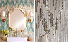 Ikat Goes Mosaic — Tile Vault | Apartment Therapy
