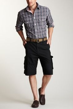 Canterbury of New Zealand Rip Stop Cargo Short