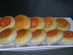 kimthuhoang - Bánh Pía nhân đậu xanh sầu riêng