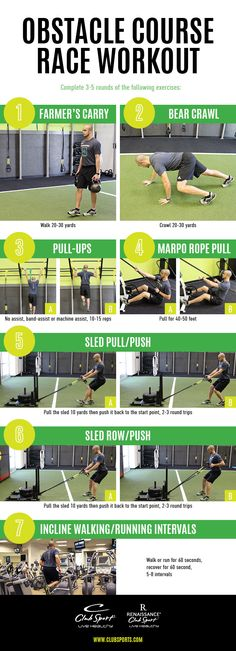 Obstacle Course Race Workout - March WOM