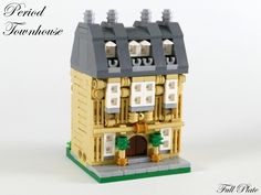 https://flic.kr/p/ULKwiV | Period Townhouse (5 of 5) | An old, but well kept, townhouse.  This was my entry for Rebrick's mini modular competition.  You can read more about the build at Full Plate Builds :)