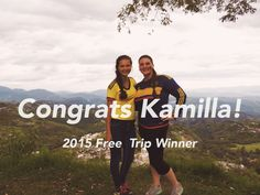 Congrats to Kamilla K. of Oregon State University for being the 2015 Free Trip Drawing winner! They will have up to one year to decide where to travel, learn, and serve. Thank you to everyone who participated in this contest! Stay tuned for more promotions and contests.