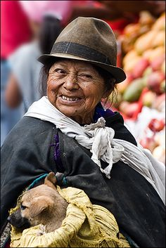 Ecuador, Otavalo market
