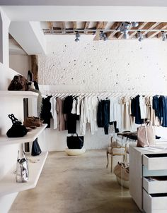Clothing boutique interior, fashion shop interior, clothing store design, f