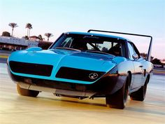 1970 Plymouth Superbird, these were never a practical car but you have to give Chrysler credit for taking a shot at it.