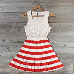 Vestido Prado estrelado em roupa vermelha, Mulheres de Sweet País