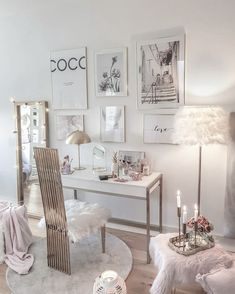 Pink Room: 60 projects to inspire you today - Home Fashion Trend