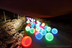 Light Painting - Marbles - Michael Bosanko - 02/05/2013