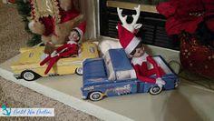 Coastal Mom Creations: Super Easy Elf on the Shelf Ideas Christmas Fun, Xmas, Christmas Ornaments, Elf On The Shelf, Coloring Pages, Shelves, Shelf Ideas, Holiday Decor, Super Easy