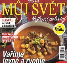 Můj svět - speciál Nejlepší polévky Pho Bo, Indie, Menu, Food, Menu Board Design, Essen, Meals, Yemek, Eten