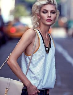 Top model Aline Weber takes the cover story of The Edit by Net-A-Porter's latest edition lensed by photographer Chris Colls with styling from Maya Zepinic. Artist Management, Contemporary Photographers, Jpg, Model Photos, Supermodels, Fashion Models, Contrast, Fashion Photography, Camisole Top
