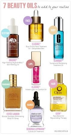 7 Beauty Oils to Add to Your Routine #LoveStyle