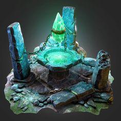 ArtStation - Ancient Rocks, Dima Ryazanov