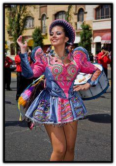 TRAJES TIPICOS DEL PERU Traditional Peruvian Dresses: caporales