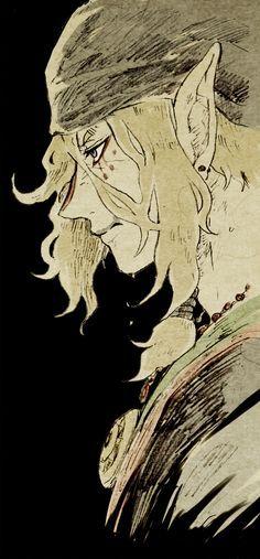 (Kusuriuri, Mononoke, Very artsy very scary anime, awesome) Manga Art, Manga Anime, Anime Art, Mononoke Anime, Character Inspiration, Character Art, The Ancient Magus Bride, Anime Sketch, Pretty Art