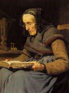 Anker, Albert (1831-1910) Alte Frau