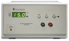 The Scientech 4181 30V, 10A Power Supply has been designed as a constant current (CC) and constant voltage (CV) source for laboratories, industries and field testing applications, featuring low power loss, compact and light weight. It provides floating, DC output voltages and is ideally suitable for complex analog and digital applications. The DC output can be continuously adjusted from 0 - 30V with coarse and fine controls. Current limit is also adjustable from 100mA - 10A. Any over loading…