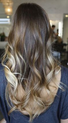 Ombre Inspiration.. im not really for the whole ombre thing, but I think I could handle this.