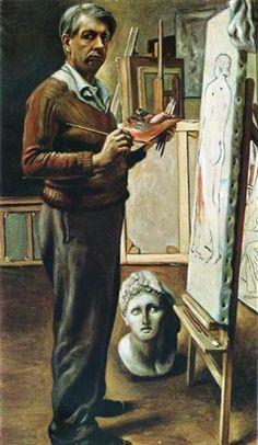 Giorgio de Chirico, arte metafísica - read at http://www.arteeblog.com/2015/11/giorgio-de-chirico-arte-metafisica.html
