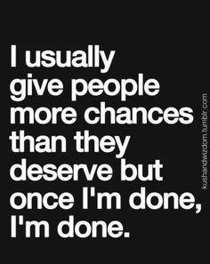 Usually ...