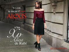 Estamos en todo; ya tienes tu #LookAlexis para ir a los XV de Rubí? #xvrubi #xvruby  #FiestaDelSiglo #SanLuisPotosi www.alexis.com.mx
