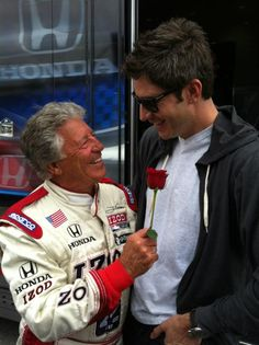 Even after all these years, Mario Andretti's love of Indycar racing is infectious. What a great ambassador he is for the sport.