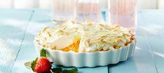Raparperihyve eli marenkitorttu Just Eat It, Rhubarb Recipes, Deli, Food And Drink, Pie, Pudding, Baking, Desserts, Pastries