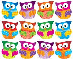 Owl-Stars!® Clips Classic Accents® Variety Pack