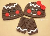 "Check out Repeat Crafter Me: Gingerbread Man Crochet Hat Pattern and tutorial! Its the cutest! #HoliDIY For my crochet ladies, @Jodee Mattson Patchett @Sherrie Keween Periatt"" data-componentType=""MODAL_PIN"
