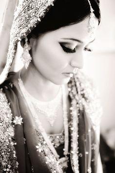 bride Beautiful Indian Brides, Pakistani, Asian, Bridal, Elegant, Celebrities, Wedding Dresses, Makeup, Inspiration