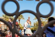 Coming back to Disney to celebrate an anniversary is something we love almost just as much as planning a couple's Disney's Fairy Tale Wedding. For Jesse and Avery, that is exactly how their love story. Disneyland Engagement Photos, Disney Engagement, Disneyland Trip, Disney Trips, Engagement Pictures, Disney Inspired Wedding, Disney Weddings, Disneyland Anniversary, Disney Poses