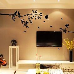 Árbol de la primavera Bird etiqueta de la pared – EUR € 24.74 Cheap Wall Stickers, Wall Decals, Wall Design, House Design, Stencil Wall Art, Spring Tree, Bird Tree, Do It Yourself Home, Home And Deco