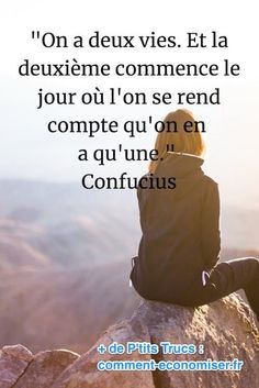 citation de confucius sur la vie We genuinely believe that tattooing can be quite a method that has been … Confucius Citation, Confucius Quotes, Positive Quotes, Motivational Quotes, Inspirational Quotes, French Quotes, Moral, Positive Attitude, Positive Thoughts