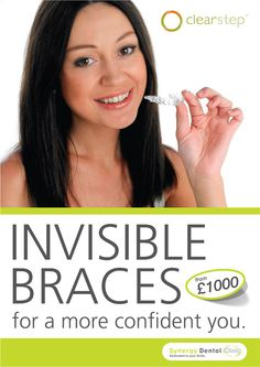 Invisible braces  by an award winning dentist in Blackpool
