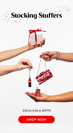 Fill your stockings with these amazing Coca-Cola gifts this holiday season! Browse Coca-Cola items like keychains, bottle openers, & more from Coke Store. Coca Cola Gifts, Coca Cola Store, Coca Cola Decor, Coca Cola Pictures, Coca Cola Poster, Always Coca Cola, World Of Coca Cola, Coca Cola Bottles, Bottle Cover