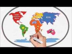 Kid Songs  Seven Continents Song for Children  The Continents