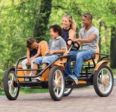 Quadricycle - Great 4 Wheel Bicycle!