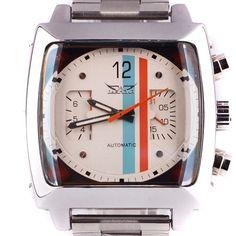 JARAGAR Fashion Square Dial Men's Day Month Automatic Mechanical Watch Reloj Male Wristwatch Montre Homme
