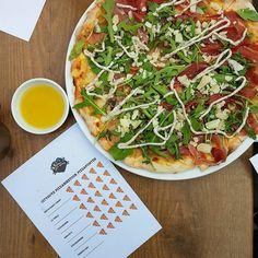 Het is weer tijd voor de jaarlijkse #pizzabiketour. We beginnen bij @restaurantforno met een Salami Piccante BLT en de Tartufo. #CityguysNL #Pizzabiketour #Pizza #RestaurantForno #tartufo #Amsterdam