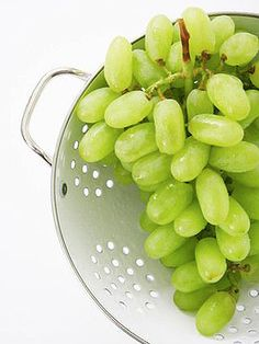 Grapes are Inflammation Squelchers!    Eating polyphenol-rich grapes — especially red ones — can reduce inflammation that contributes to a variety of health problems, including type 2 diabetes, hardening of the arteries, and high blood pressure