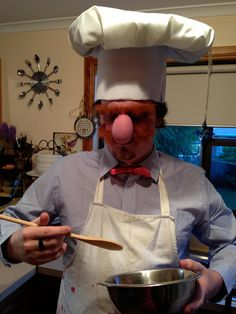 Swedish Chef for Halloween - Bork Bork Bork by TheAaronLeigh