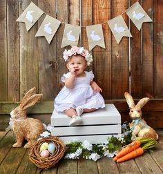 Baby girl photo shoot ideas mini sessions ideas baby first easter photography baskets 25 trendy ideas photography baby Photography Mini Sessions, Birthday Photography, Children Photography, Photography Props, Photography Classes, Girl Photography, Halloween Photography, Holiday Photography, Mountain Photography