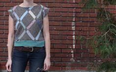 Wool Sweater Vest  Ready to Ship size L/XL  Women's by sewoiseau